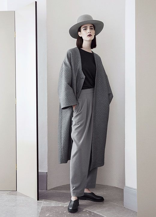 With a contemporary take on grace, A-S Dåvik's co-lab collection introduces the reinvented suit and artfully designed accessories.