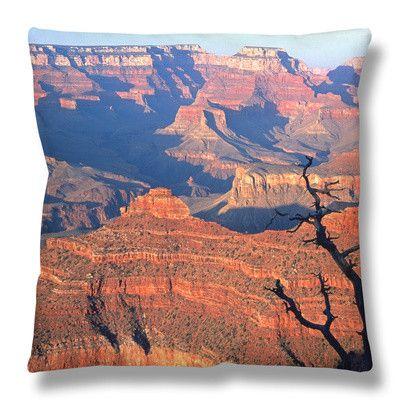 Pillow-Grand Canyon from South Rim Near Yavapai Point, Grand Canyon National Park, Arizona By: David Tomlinson