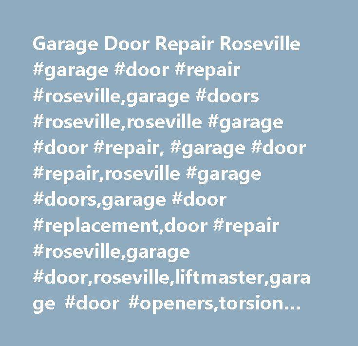 Garage Door Repair Roseville #garage #door #repair #roseville,garage #doors