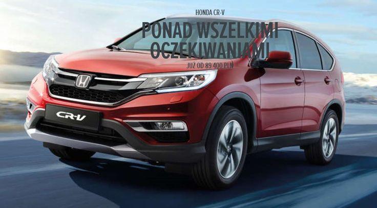 Honda CRV w Honda Krężel & Krężel