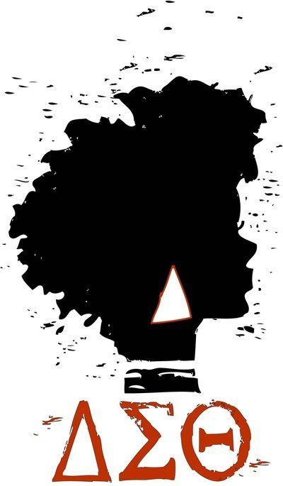 delta sigma theta clip art | Delta Sigma Theta Art Print by J. Lynn Art | Society6