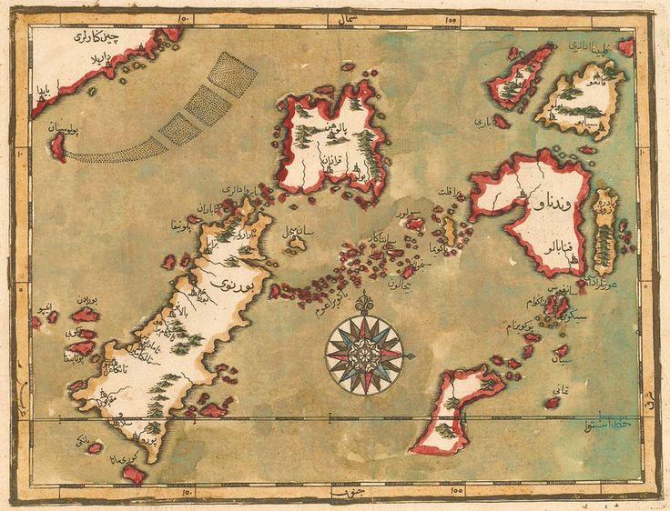 Osmanlı Endonezya haritası