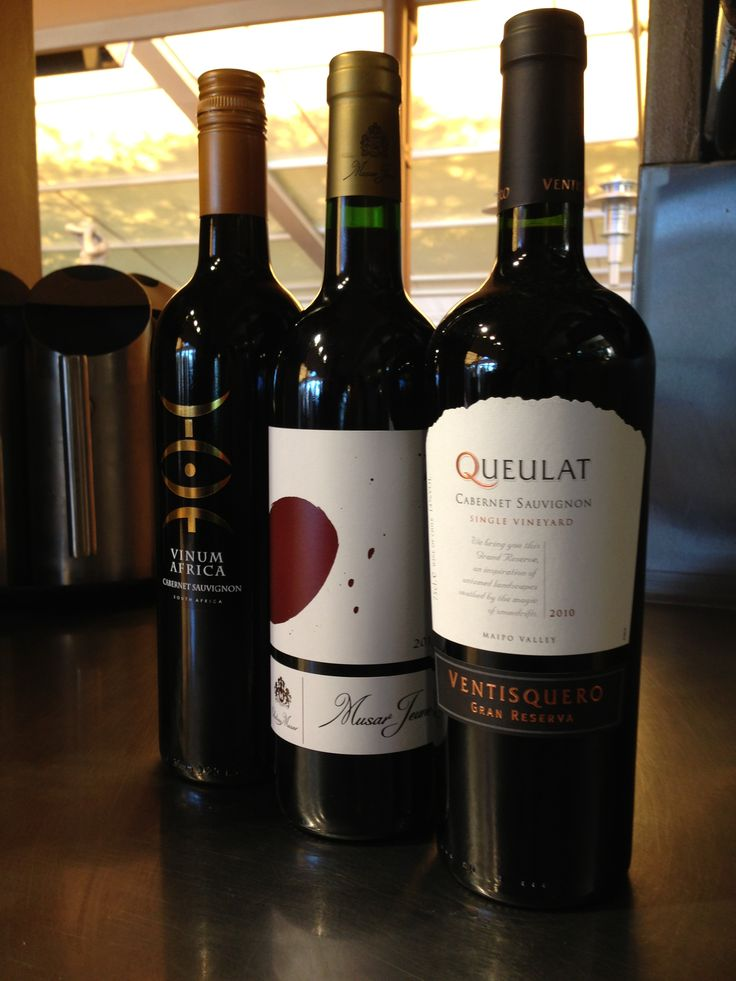 We have a fantastic range of international wines on our wine lists.