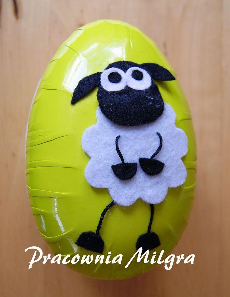 Pracownia Milgra: Szkatułka na Wielkanoc