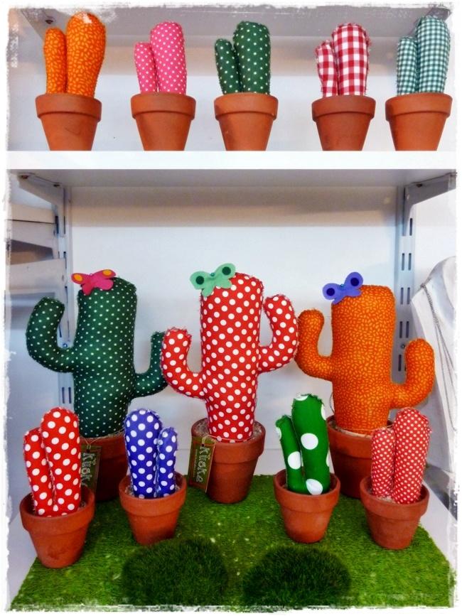 V I A V A I . Move your style.  pe2013 - i cactus in stoffa Kuska da Barcellona! <3