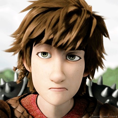 When Hiccup has had enough of everybody's crap. lol XD