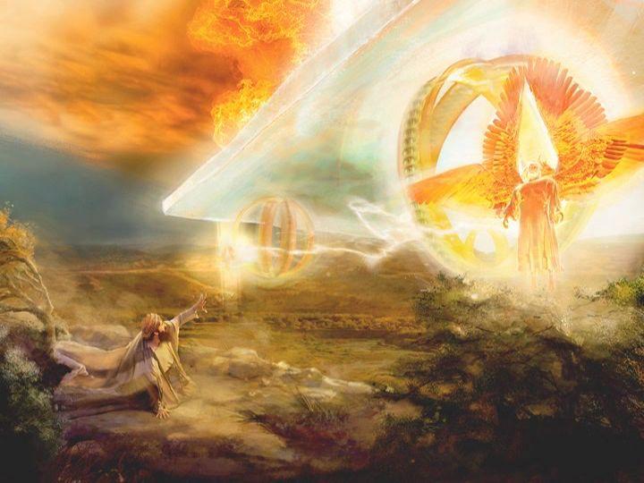 Carro celestial | jw | El profeta, Versículos de la biblia ...