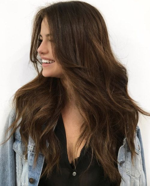 brunette long hair styles 1000 ideas about hairstyles on 6941 | 1a7b30c5fdf4ee9200c2164221a53f99