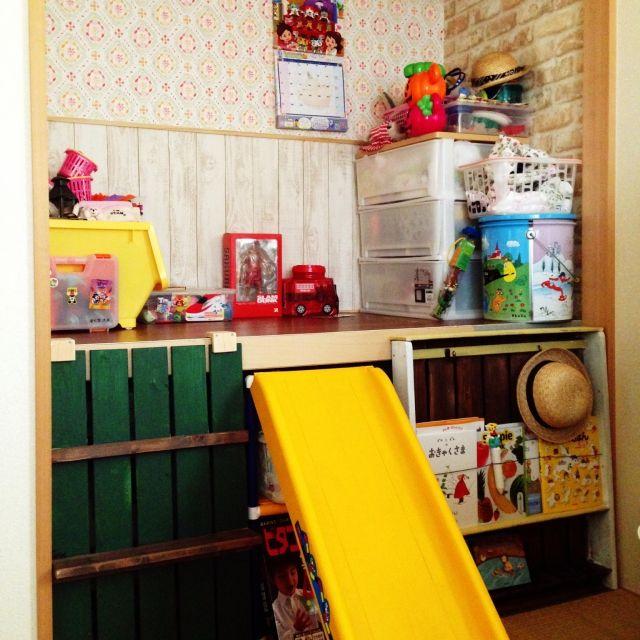 子供部屋/DIY/押入れ改造のインテリア実例 - 2015-04-07 21:36:04 | RoomClip(ルームクリップ)