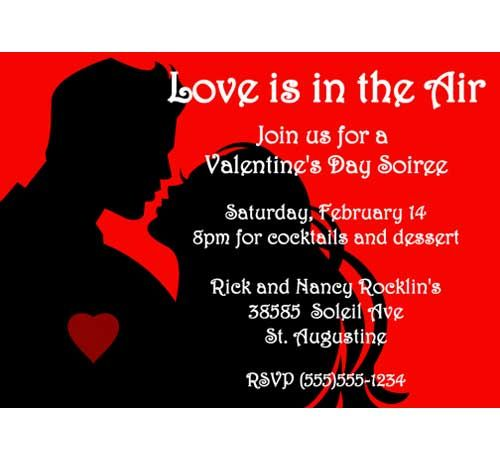 Best St ValentineS Invitations Images On   Valentines