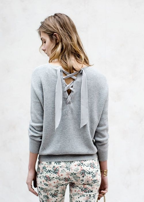 Pull Giacomo & Jean 7/8 // Lookbook Pré-collection Printemps Eté #sezane #2016