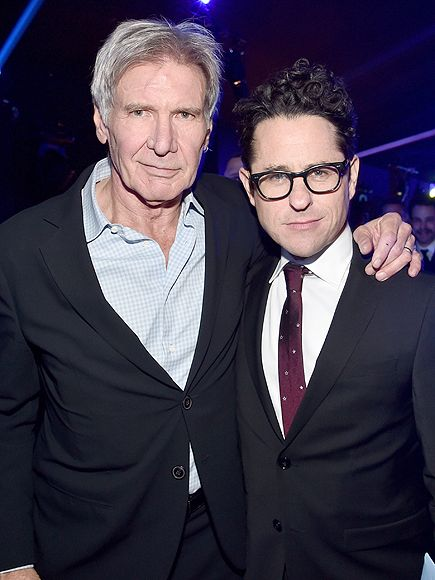 J.J. Abrams on Directing Harrison Ford in Star Wars: The Force Awakens Movie: 'What Was Weird Was How It Wasn't Weird' http://www.people.com/article/jj-abrams-directing-harrison-ford-star-wars-force-awakens