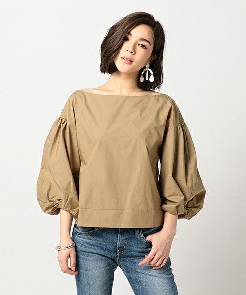 【ZOZOTOWN|送料無料】ESTNATION(エストネーション)のシャツ/ブラウス「ESTNATION バルーンスリーブブラウス」(71-109-10-020138)を購入できます。