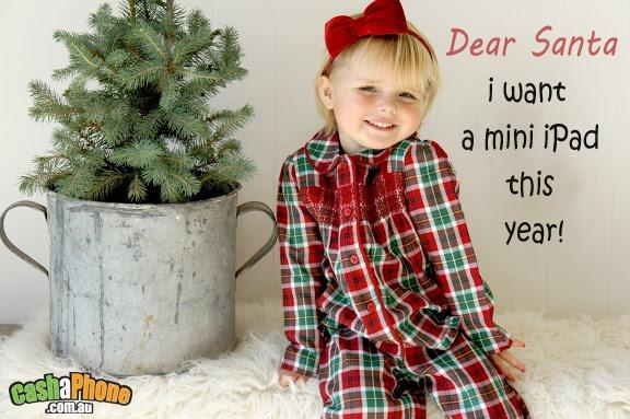 dear santa i want a mini ipad