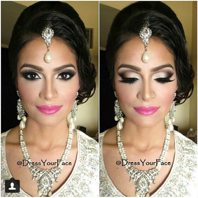 Bollywood wedding makeup #Sensationnel #MyDreamWedding