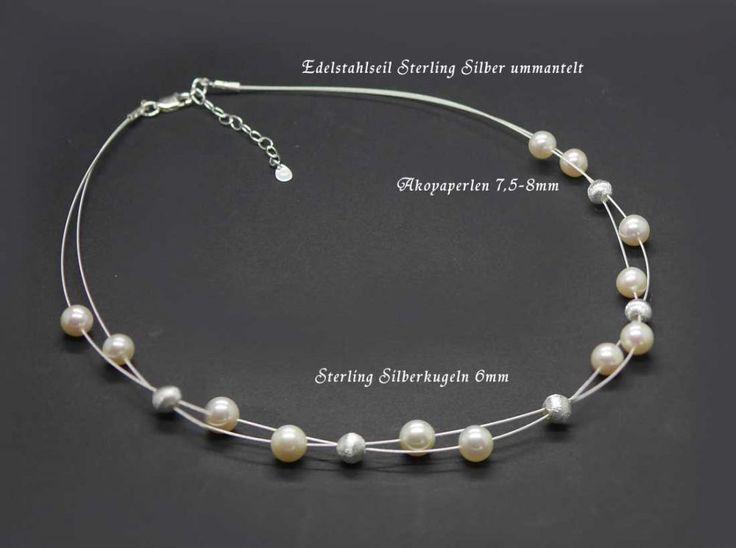 Brautschmuck perlenkette  Die besten 10+ Zuchtperlen Ideen auf Pinterest | Perlenketten ...