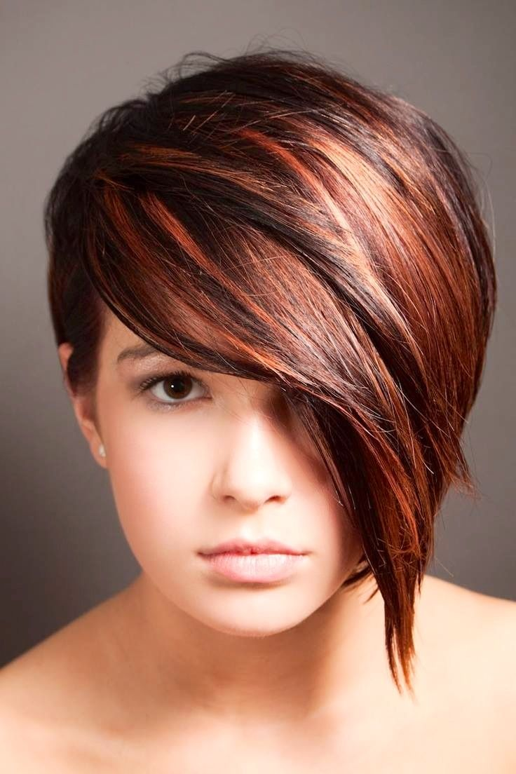 Cut And Color : ... cut in red. Hair Pinterest Pixie Cuts, Colors and Love This