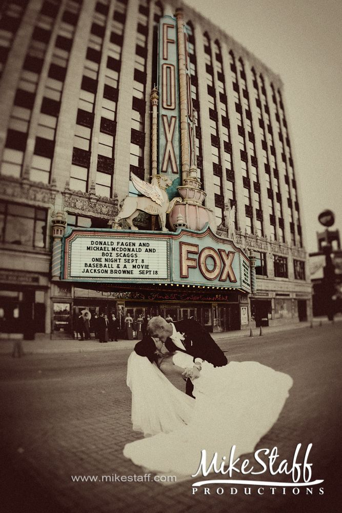 Mike Staff Productions at the #Fox Theater Detroit http://www.mikestaff.com/services/photography