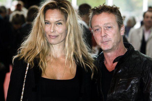 Renee Simonsen with husband Thomas Helmig