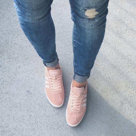 adidas Courtset Sneaker - Women's   Sneakers, Adidas courtset ...