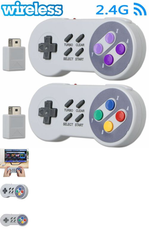 Video Game Accessories 54968: Wireless Controller Gamepad
