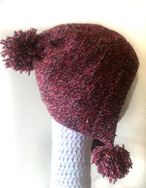 Red Pointy Hat by Dubidu on Etsy