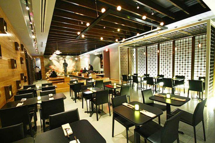Restuarant interior design modern elegant thai
