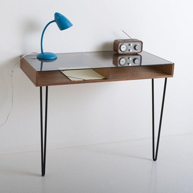 Bureau console vintage watford inspiration fils et s rum for Table watford