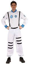 ADULT WHITE ASTRONAUT SPACEMAN COSTUME FANCY DRESS