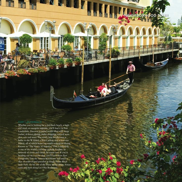 """Fort Lauderdale - """"The Venice of America""""  #fortlauderdale #florida #Where"""