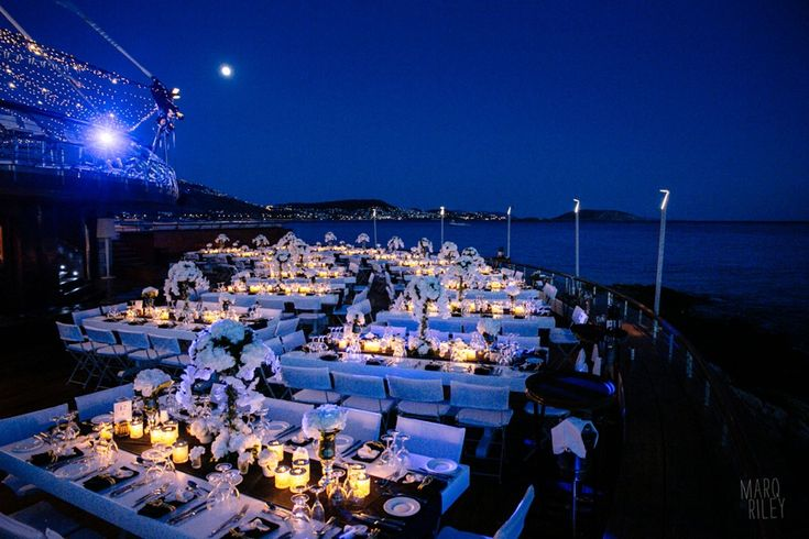 Navy Blue Marine Wedding @ Veghera , Lagonisi Resort