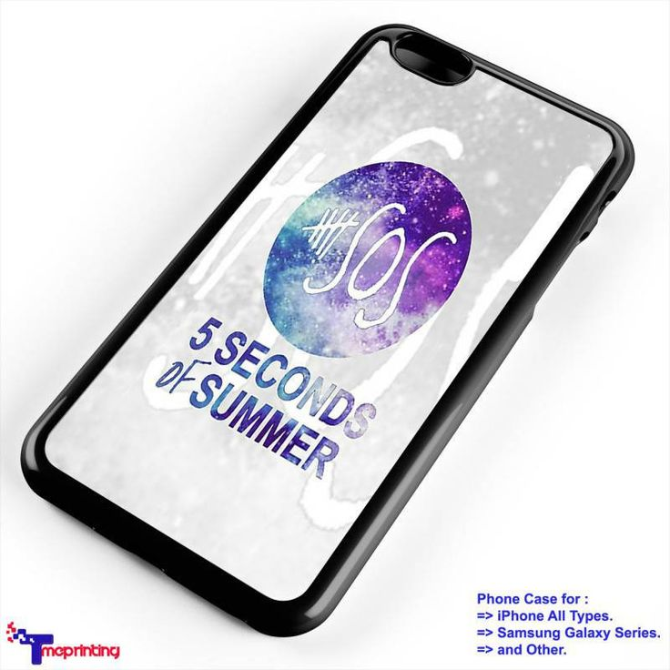 5 SOS Galaxy, 5 Seconds of Summer - Personalized iPhone 7 Case, iPhone 6/6S Plus, 5 5S SE, 7S Plus, Samsung Galaxy S5 S6 S7 S8 Case, and Other