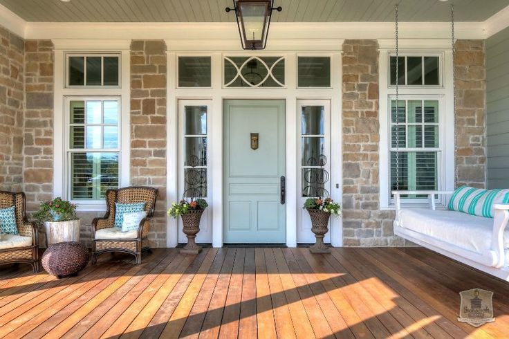 Greystone Country House In Kentucky By Stonecroft Homes