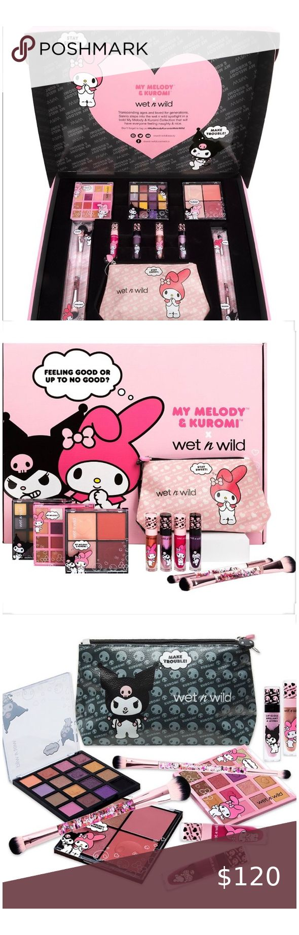 makeup face brush wet n wild 🎀New PR Set My Melody