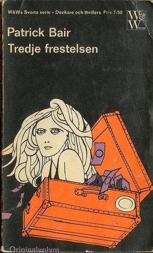 I love the work of Swedish illustrator Per Åhlin who created a series of covers for thrillers by W&W in the 60's.