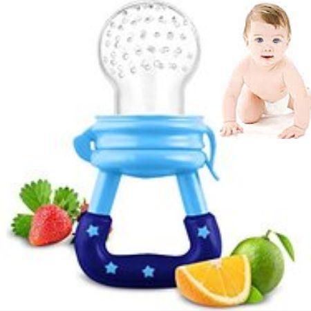 Baby Fresh Fruit Juice and Vegetable Feeder – Pacifier Nibbler – BPA Free, PVC Free, Nitrosamine Free