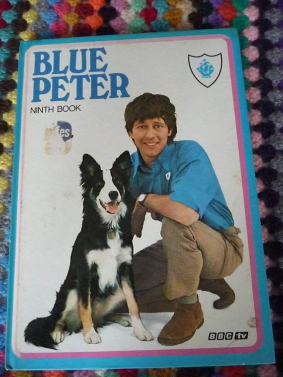Vintage Blue Peter annual  Ninth Book from 1972  by Retroporium, £4.00. John Noakes and Shep