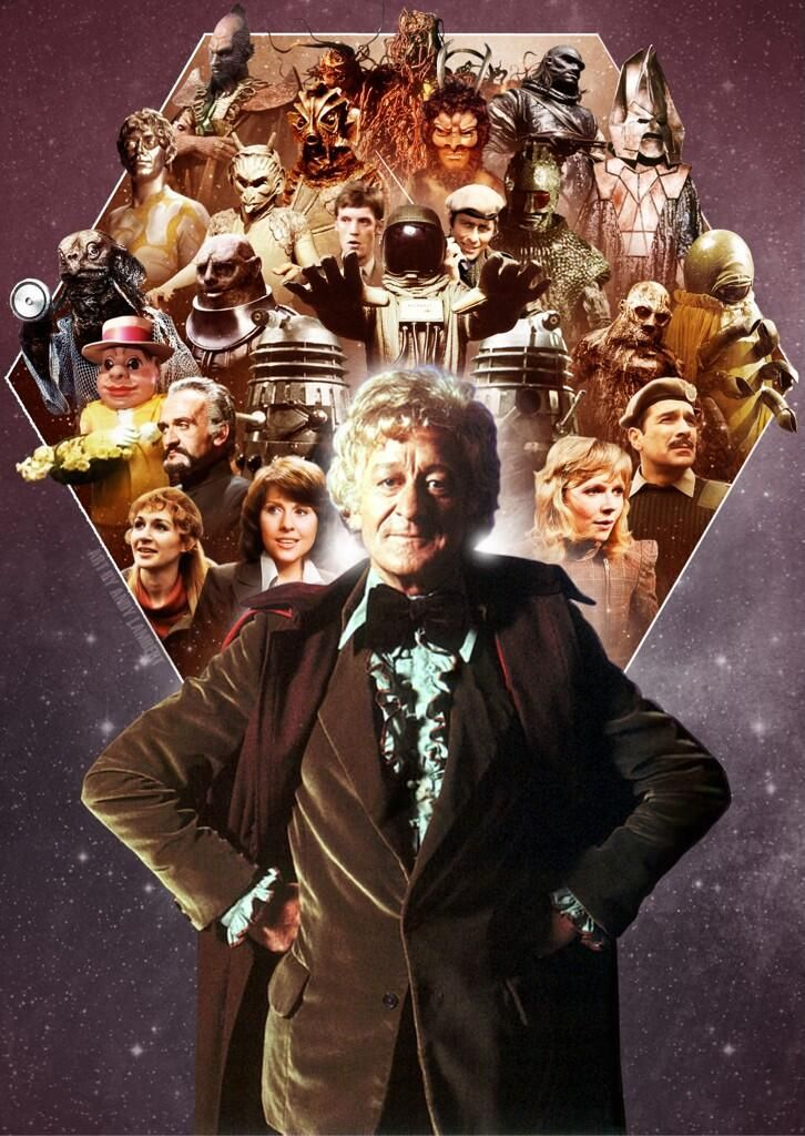 Doctor Who - John Pertwee (he's the first one I can remember).