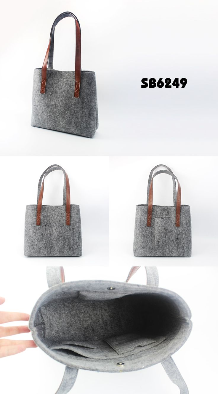 Felt handle shopping bags| Buyerparty Inc.