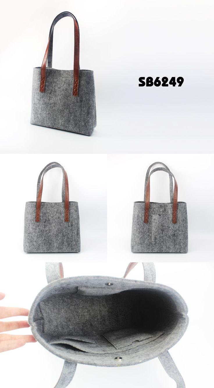 Felt handle shopping bags| Buyerparty Inc.