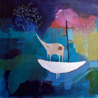 Mati Rose - Lucky Elephant At Sea