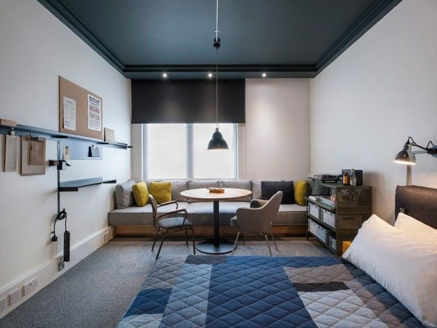 ACE HOTEL Shoredich by Edward Barber and Jay Osgerby of Universal Design Studio