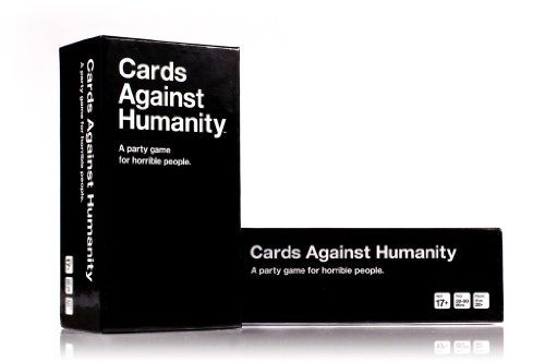 "Cards Against Humanity is a party game for horrible people. Unlike most of the party games you've played before, Cards Against Humanity is as despicable and awkward as you and your friends.  The game is simple. Each round, one player asks a question from a Black Card, and everyone else answers with their funniest White Card.  Reviews of Cards Against Humanity:  ""Pretty amazing."" - The Onion AV Club  ""An incredible game."" - Mike ""Gabe"" Krahulik, Penny Arcade  &qu..."