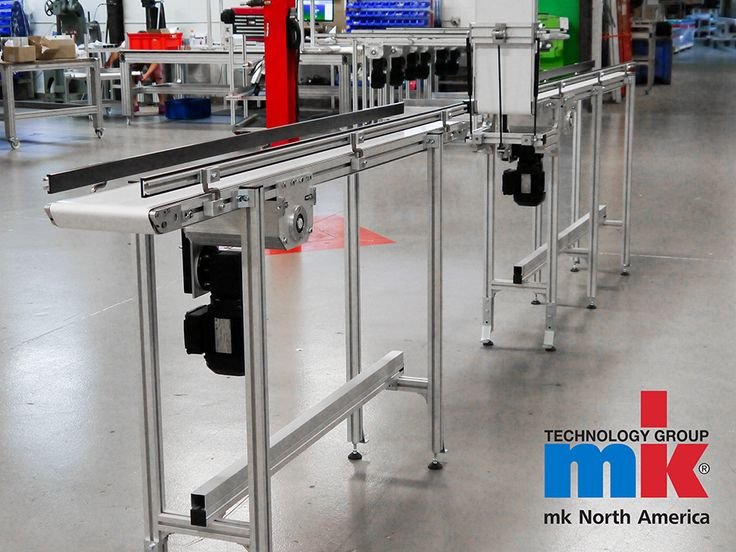 Customization. Durable. High Quality. Quick Delivery.  These are all perfect descriptors for the GUF-P 2000 belt conveyor line from mk North America.