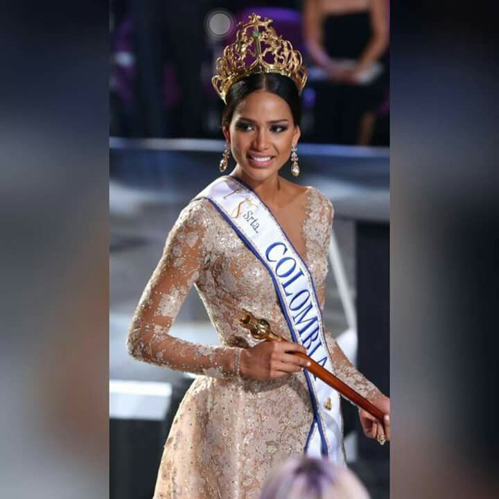 Andrea Tovar Miss Colombia 2016