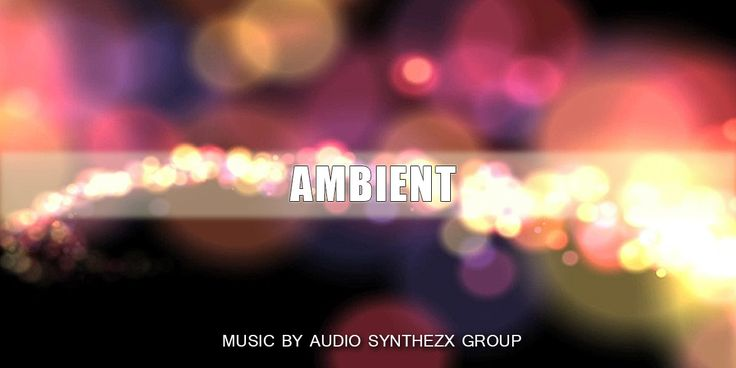 Our new POST, fellows! - AMBIENT GLITCH (TWO VERSIONS). Royalty free stock music by Synthezx  AMBIENT GLITCH (TWO VERSIONS). Royalty free stock music Ambient Glitch it's a very calm and unhurried song with large noise, glitch sounds and simple melody. Strong support fat and at the same time soft bass gives the song more expression. A large number of bells, soft transitions, sfx, noise give this song a special charm and magical mood. Especially suitable for 3d video pr