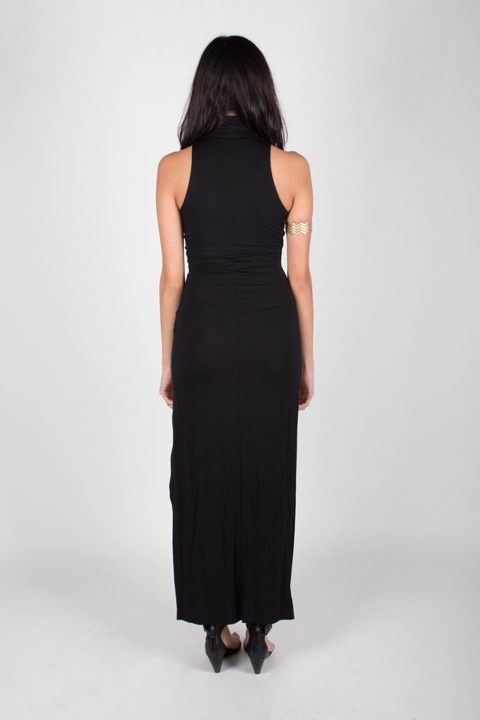Turtleneck Slit Maxi Dress | Love to See you Go | Pinterest