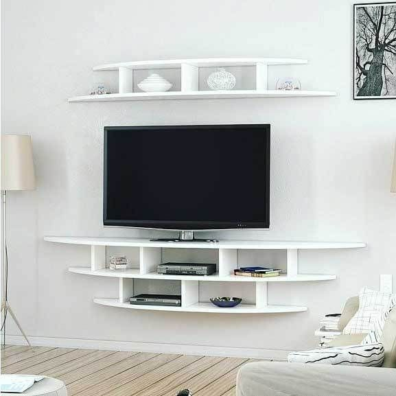40 Diy Tv Stand Ideas For Your Home Decor Wall Mounted Tv Unit Tv Wall Unit Tv Unit Decor