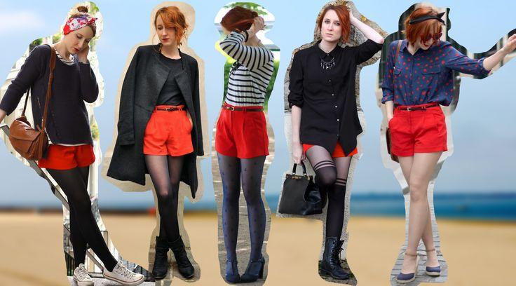 Comment porter le short rouge