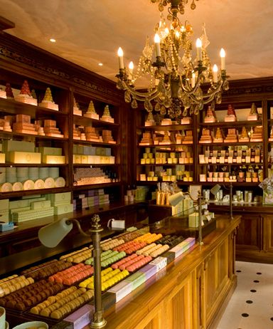 Laduree Paris.  I dream of buying one of each and eating them all in one day!